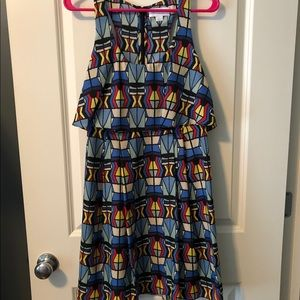 Fun and colorful Jessica Simpson dress
